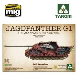 Jagdpanther G1 Late Production Sd.Kfz.173 - Scale 1/35 - Takom - TAKO2106