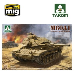 M60A1 w/ERA - Scale 1/35 - Takom -TAKO2113
