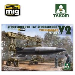 Stratenwerth 16t Strabokran 1944/45 Production / V-2 Rocket/ Vidalwagen - Scale 1/35 - Takom -TAKO2123