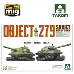 Object 279+Object 279M+NBC Soldier - Scale 1/72 - Takom -TAKO5005