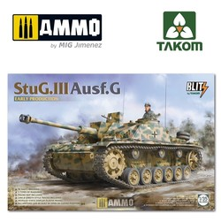 StuG.III Ausf.G early production - Scale 1/35 - Takom -TAKO8004