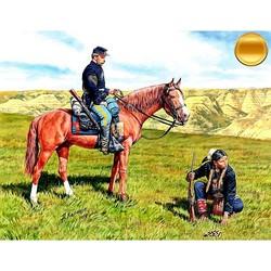 U.S. Civil War Series: Yankee Scout and Tracker - Scale 1/35 - Masterbox Ltd - MBLTD3549