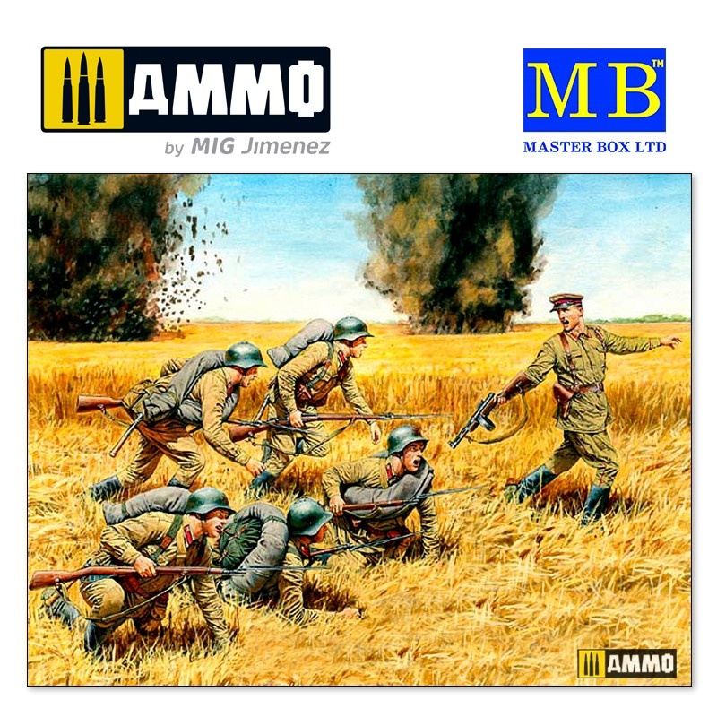 Master Box Ltd Counterattack - Scale 1/35 - Masterbox Ltd - MBLTD3563