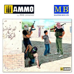 Iraq events. Kit #2, Insurgence - Scale 1/35 - Masterbox Ltd - MBLTD3576