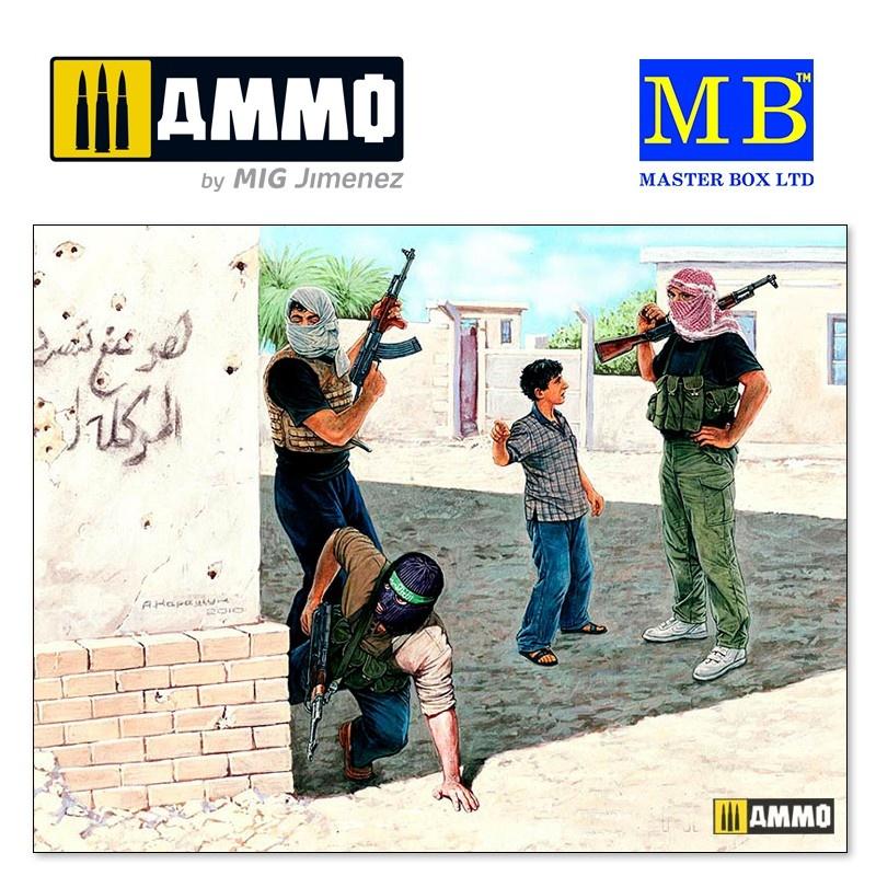 Master Box Ltd Iraq events. Kit #2, Insurgence - Scale 1/35 - Masterbox Ltd - MBLTD3576
