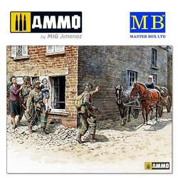 """France, 1944"" - Scale 1/35 - Masterbox Ltd - MBLTD3578"