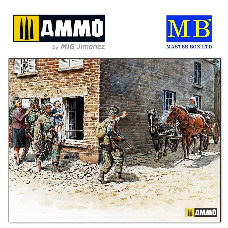 """Master Box Ltd """"France, 1944"""" - Scale 1/35 - Masterbox Ltd - MBLTD3578"""