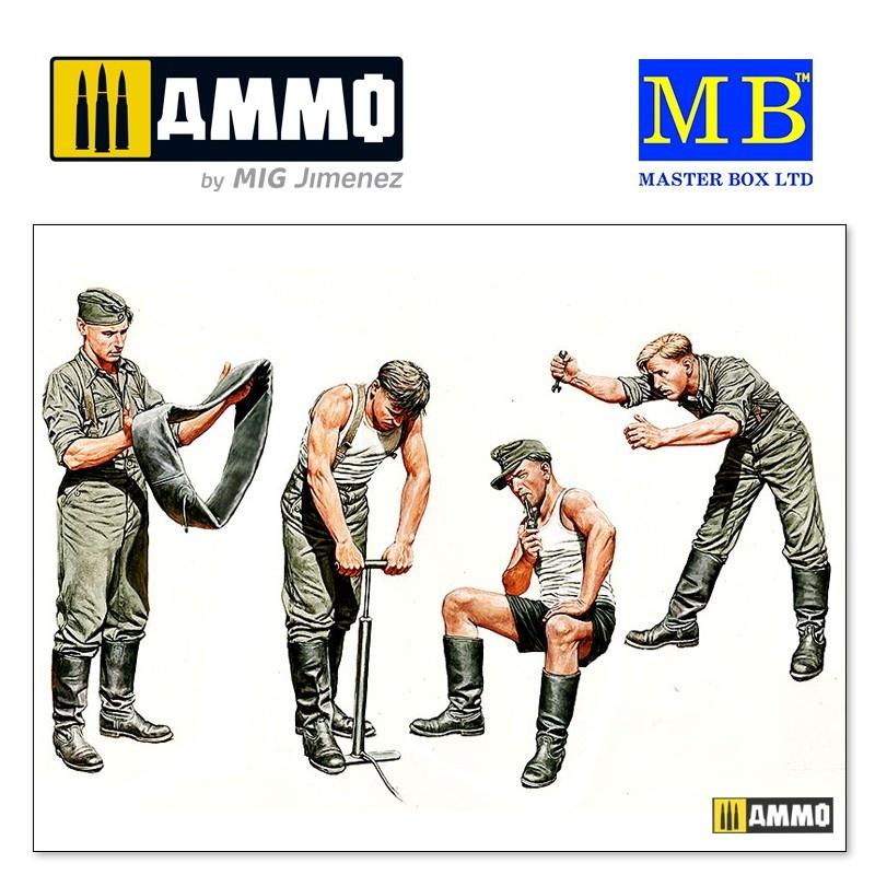 "Master Box Ltd ""Auto-Repair Crew"" - Scale 1/35 - Masterbox Ltd - MBLTD3582"