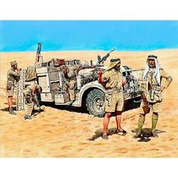 LRDG in North Africa, WWII era - Scale 1/35 - Masterbox Ltd - MBLTD3598