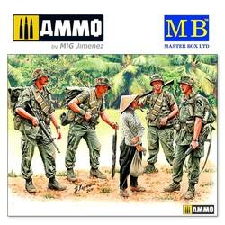 Patroling. Vietnam War series - Scale 1/35 - Masterbox Ltd - MBLTD3599