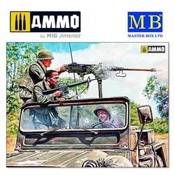 """Charlie on the left!!! Vietnam war kit series"" - Scale 1/35 - Masterbox Ltd - MBLTD35105"