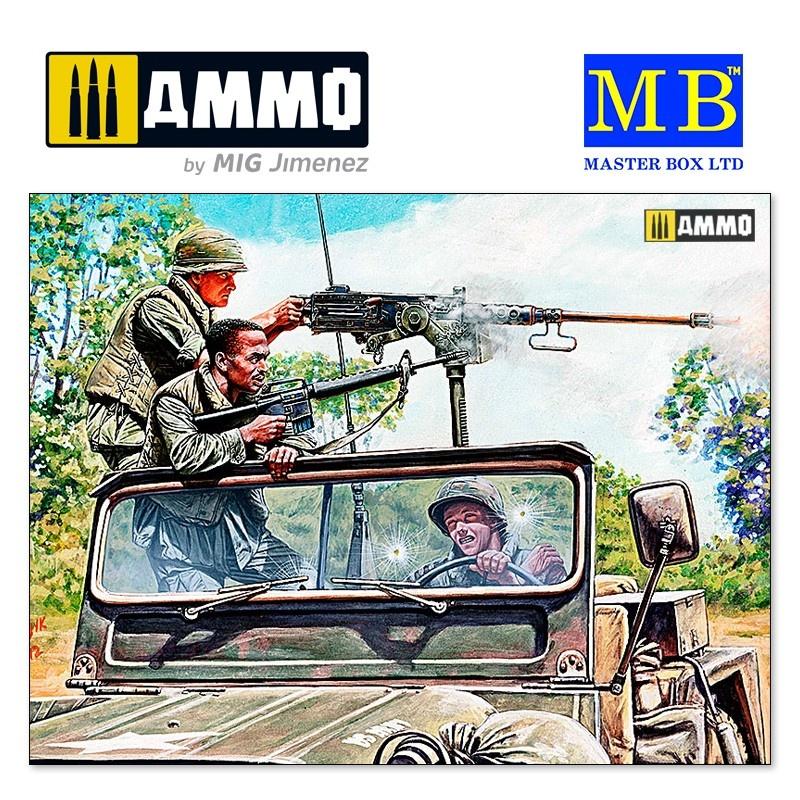 """Master Box Ltd """"Charlie on the left!!! Vietnam war kit series"""" - Scale 1/35 - Masterbox Ltd - MBLTD35105"""
