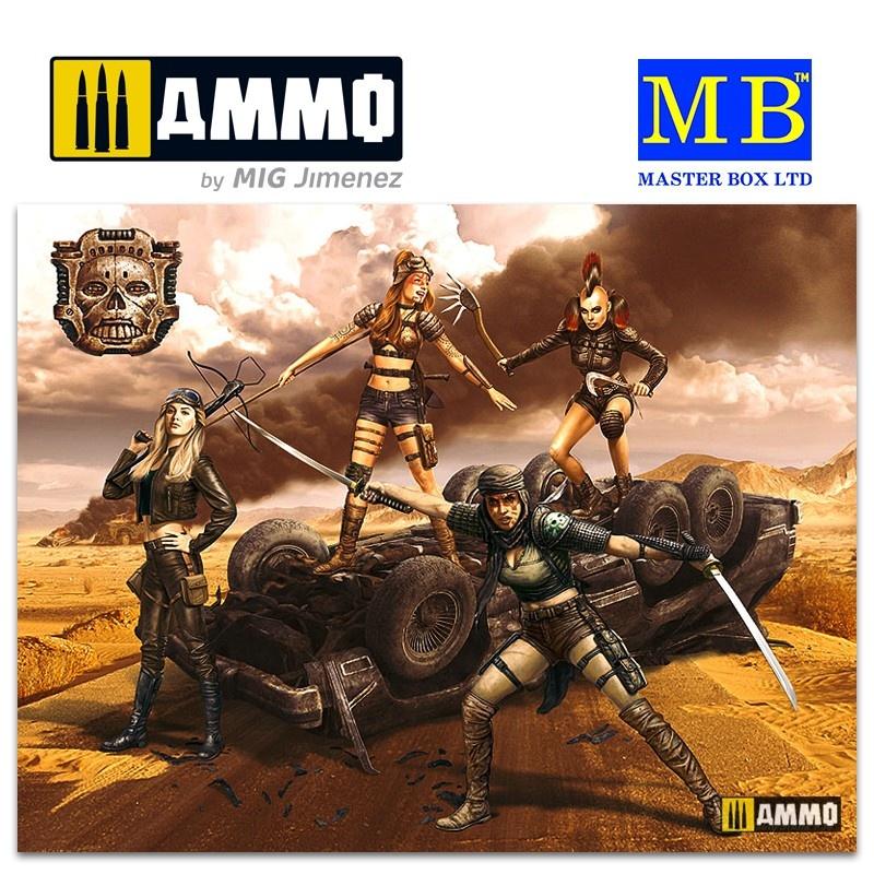 Master Box Ltd Desert Battle Series, Skull Clan - Death Angels - Scale 1/35 - Masterbox Ltd - MBLTD35122