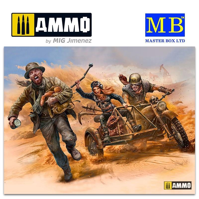 Master Box Ltd Desert Battle Series, Skull Clan - To Catch a Thief - Scale 1/35 - Masterbox Ltd - MBLTD35140
