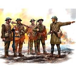 British Infantry, Somme Battle Period, 1916 - Scale 1/35 - Masterbox Ltd - MBLTD35146