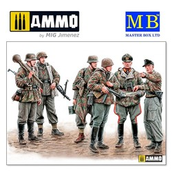 Let's stop them here! German Military Men, 1945 - Scale 1/35 - Masterbox Ltd - MBLTD35162