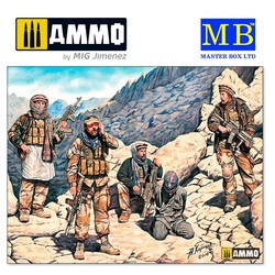 Somewhere in the Middle East. Present day - Scale 1/35 - Masterbox Ltd - MBLTD35163