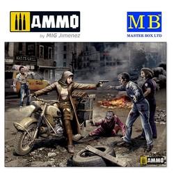 Zombie Hunter - Road to Freedom, Zombieland series - Scale 1/35 - Masterbox Ltd - MBLTD35175
