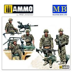 Modern UK Infantrymen, present day - Scale 1/35 - Masterbox Ltd - MBLTD35180