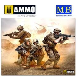 No Soldier left behind - MWD Down - Scale 1/35 - Masterbox Ltd - MBLTD35181