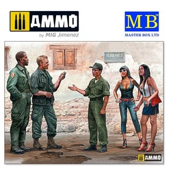 Somewhere in Saigon, Vietnam War Series - Scale 1/35 - Masterbox Ltd - MBLTD35185