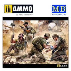 """""""Danger Close"""". Special Operations Team, Present Day - Scale 1/35 - Masterbox Ltd - MBLTD35207"""