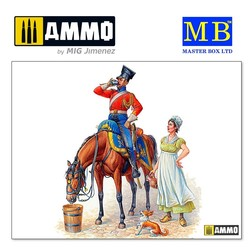 Napoleon's Red Lancer, Napoleonic Wars Series - Scale 1/35 - Masterbox Ltd - MBLTD3209