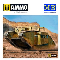 MK I Female British Tank, Special Modification for the Gaza Strip - Scale 1/35 - Masterbox Ltd - MBLTD72004