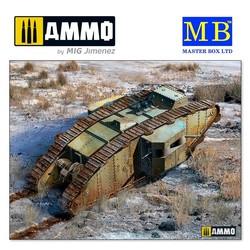 MK II Female British Tank, Arras Battle period, 1917 - Scale 1/35 - Masterbox Ltd - MBLTD72006