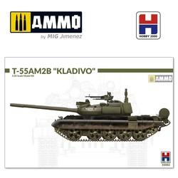 "T-55AM2B ""Kladivo"" (w/bonus 4 painting and marking ) - Scale 1/35 - Hobby 2000 - H2K35002"