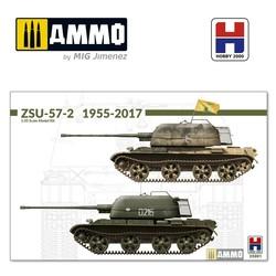 ZSU-57-2 1955-2017 w/bonus (11 Painting and Marking ) - Scale 1/35 - Hobby 2000 - H2K35001