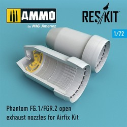 Phantom FG.1/FGR.2 open exhaust nozzles for Airfix Kit - Scale 1/72 - Reskit - RSU72-0110