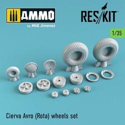 Cierva Avro (Rota) wheels set - Scale 1/35 - Reskit - RS35-0001