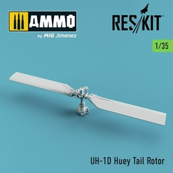 UH-1D Huey Tail Rotor - Scale 1/35 - Reskit - RSU35-0003