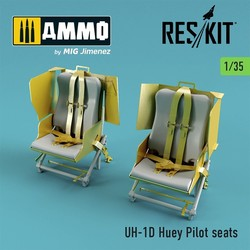 UH-1D Huey Pilot seats - Scale 1/35 - Reskit - RSU35-0006