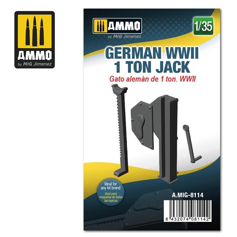Ammo by Mig Jimenez German WWII 1 ton Jack - Scale 1/35 - Ammo by Mig Jimenez - A.MIG-8114