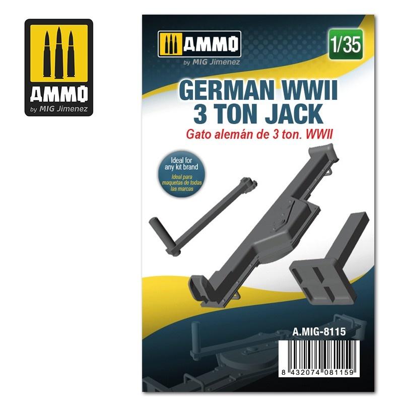 Ammo by Mig Jimenez German WWII 3 ton Jack - Scale 1/35 - Ammo by Mig Jimenez - A.MIG-8115
