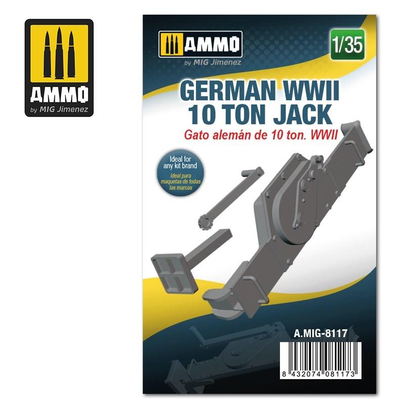 Ammo by Mig Jimenez German WWII 10 ton Jack - Scale 1/35 - Ammo by Mig Jimenez - A.MIG-8117