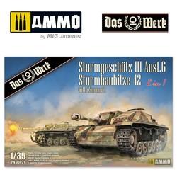 StuG III / StuH 42 mit Zimmerit  - Scale 1/35 - Das Werk - DW35021