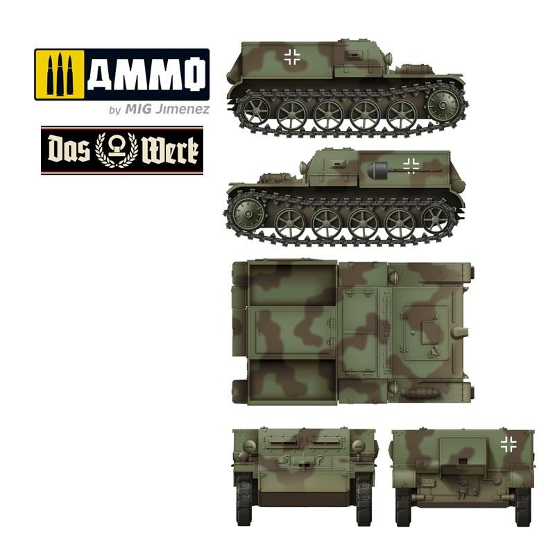 Das Werk Gepanzerter Munitionsschlepper VK3.02 - Scale 1/35 - Das Werk - DW35016