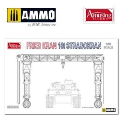 Frieskran 16t Strabokran - Scale 1/35 - Amusing Hobby - AH35B003