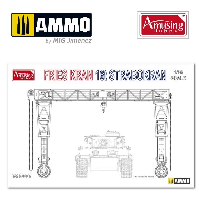 Amusing Hobby Frieskran 16t Strabokran - Scale 1/35 - Amusing Hobby - AH35B003