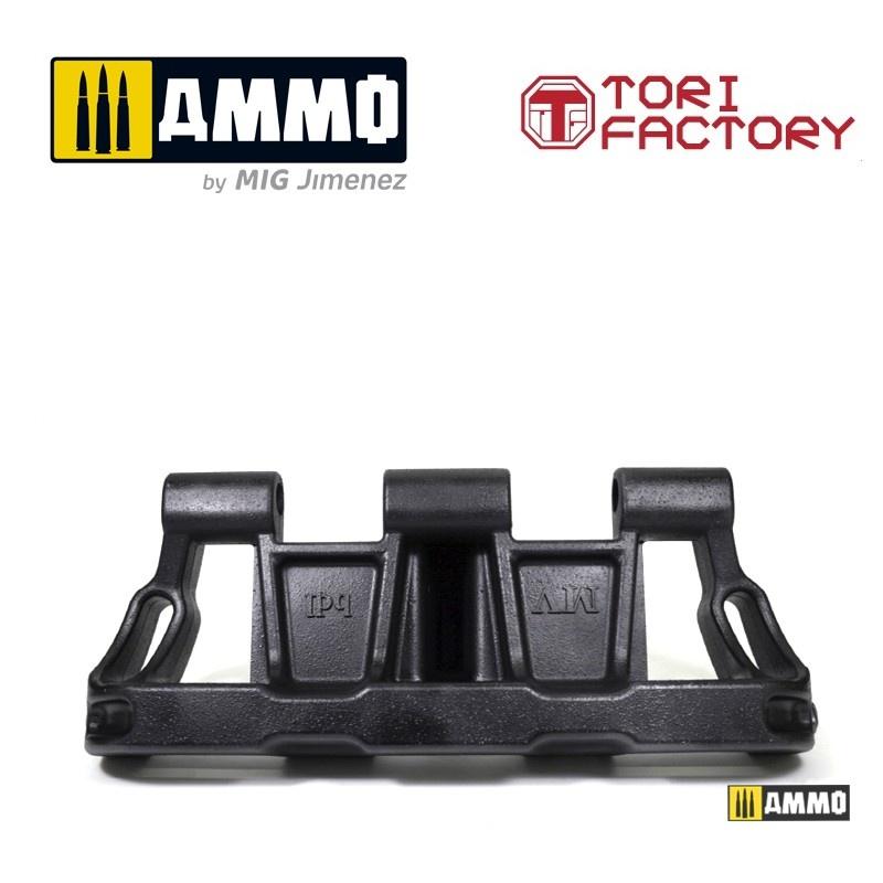Tori Factory German Pz.kpfw. III/IV 40cm Track (Mid Type) - Scale 1/1 - Tori Factory - TF1001