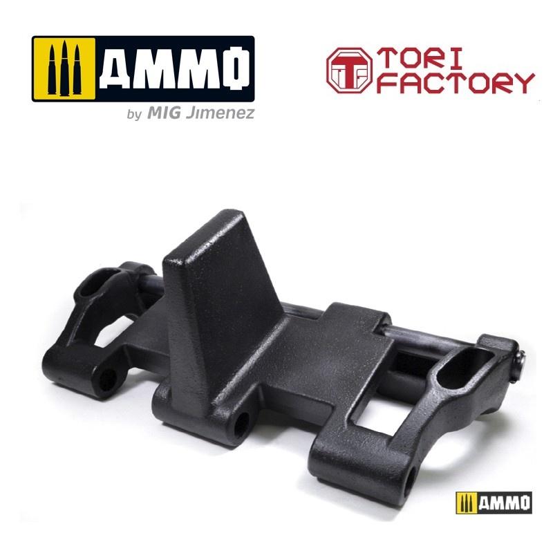 Tori Factory German Pz.kpfw. III/IV 40cm Track (Mid Type)  Limited Edition - Scale 1/1 - Tori Factory - TFL1001