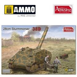 28cm Sturmmörser auf Panzer 38D - Scale 1/35 - Amusing Hobby - AH35A009