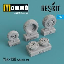 Yak-130 wheels set - Scale 1/72 - Reskit - RS72-0093