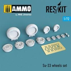 Su-33 wheels set - Scale 1/72 - Reskit - RS72-0257