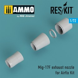 Mig-17F exhaust nozzle for Airfix Kit - Scale 1/72 - Reskit - RSU72-0057