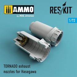 TORNADO exhaust nozzles for Hasegawa - Scale 1/72 - Reskit - RSU72-0051