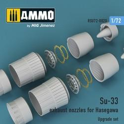 Su-33 exhaust nozzles for Hasegawa - Scale 1/72 - Reskit - RSU72-0020